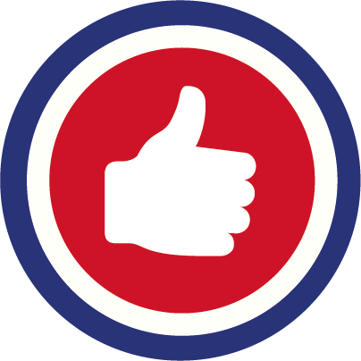 PEP Decorators Thumbs Up Icon
